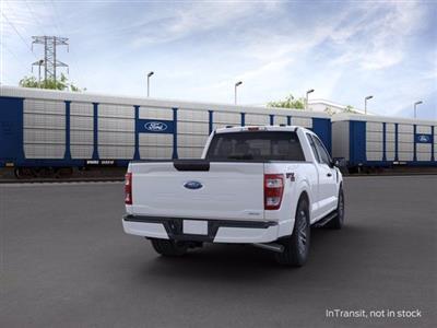 2021 Ford F-150 Super Cab 4x4, Pickup #F10123 - photo 2