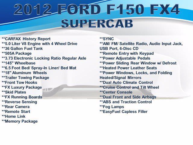 2012 Ford F-150 Super Cab 4x4, Pickup #F1013P1 - photo 4