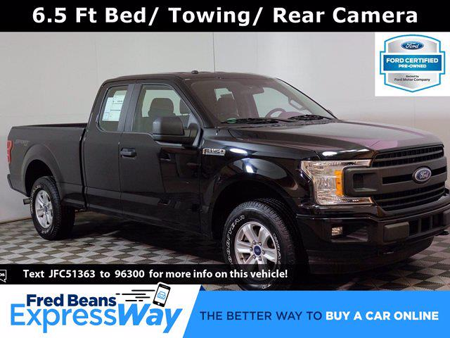 2018 Ford F-150 Super Cab 4x4, Pickup #F1014P - photo 1