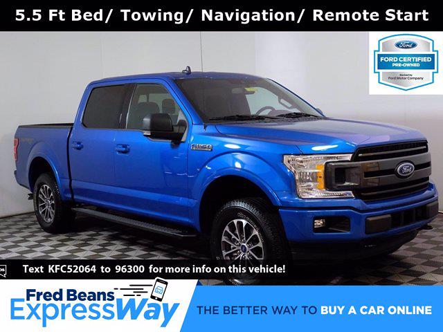 2019 Ford F-150 SuperCrew Cab 4x4, Pickup #F101831 - photo 1
