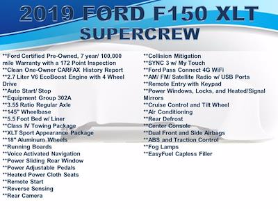 2019 Ford F-150 SuperCrew Cab 4x4, Pickup #F101831 - photo 3
