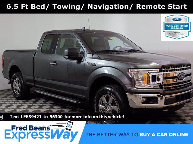 2020 Ford F-150 Super Cab 4x4, Pickup #F1046D - photo 1