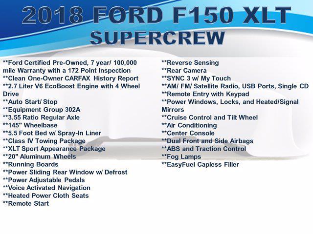 2018 F-150 SuperCrew Cab 4x4,  Pickup #F105011 - photo 4