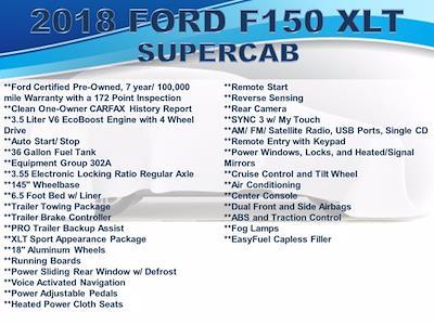 2018 Ford F-150 Super Cab 4x4, Pickup #F1060D - photo 3
