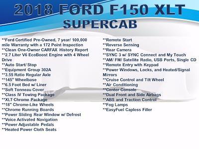 2018 Ford F-150 Super Cab 4x4, Pickup #F1063D - photo 4