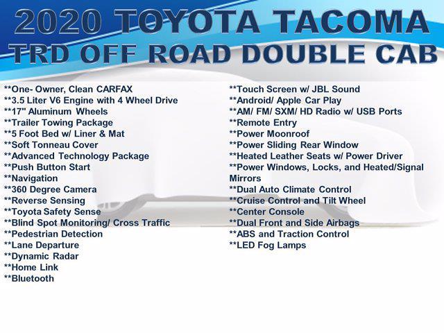 2020 Toyota Tacoma Double Cab 4x4, Pickup #F1071D2 - photo 4
