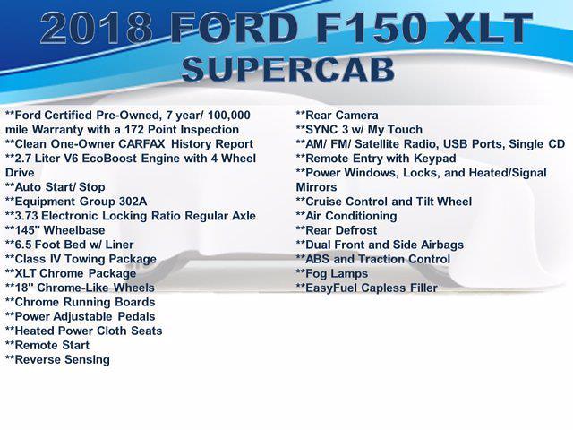 2018 F-150 Super Cab 4x4,  Pickup #F1072D - photo 3