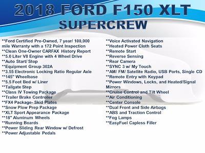 2018 Ford F-150 SuperCrew Cab 4x4, Pickup #F1079D - photo 6