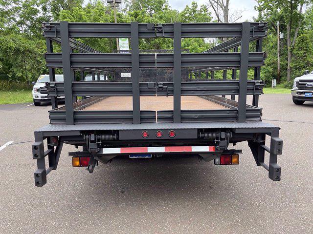 2016 Isuzu NPR Regular Cab 4x2, Stake Bed #F1079P - photo 8