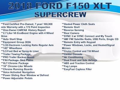2018 F-150 SuperCrew Cab 4x4,  Pickup #F1090D - photo 32