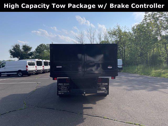 2019 Ford F-550 Crew Cab DRW 4x4, Reading Landscaper SL Landscape Dump #F1090P - photo 6