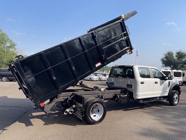 2019 Ford F-550 Crew Cab DRW 4x4, Reading Landscaper SL Landscape Dump #F1090P - photo 28