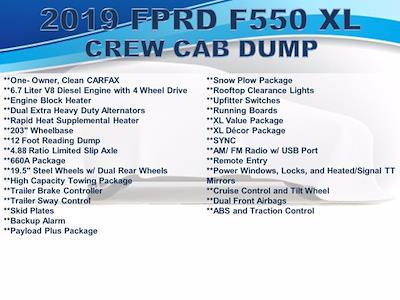2019 Ford F-550 Crew Cab DRW 4x4, Reading Landscaper SL Landscape Dump #F1090P - photo 4