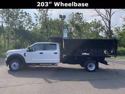 2019 Ford F-550 Crew Cab DRW 4x4, Reading Landscaper SL Landscape Dump #F1090P - photo 8