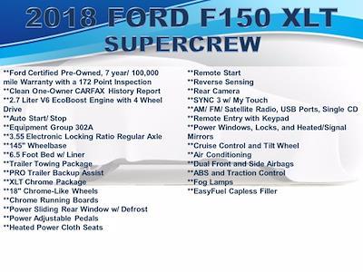 2018 F-150 Super Cab 4x4,  Pickup #F1104D - photo 2
