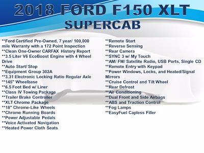 2018 F-150 Super Cab 4x4,  Pickup #F1119D - photo 3