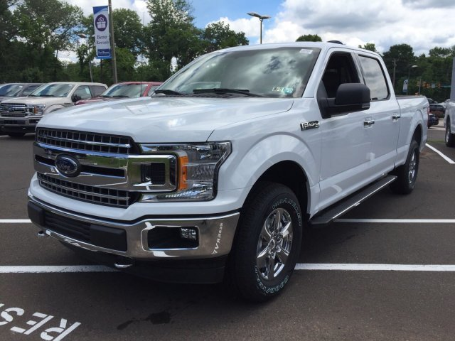 2018 F-150 SuperCrew Cab 4x4,  Pickup #F80955 - photo 4