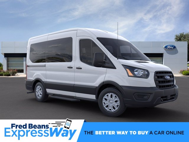 2020 Ford Transit 150 Med Roof RWD, Passenger Wagon #FU0050 - photo 1