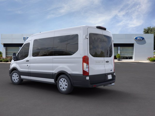 2020 Ford Transit 150 Med Roof RWD, Passenger Wagon #FU0077 - photo 5