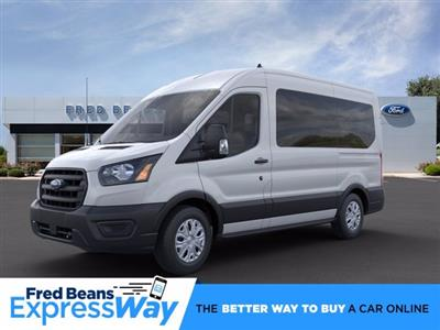2020 Ford Transit 150 Med Roof RWD, Passenger Wagon #FU0077 - photo 1