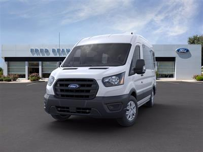 2020 Ford Transit 150 Med Roof RWD, Passenger Wagon #FU0077 - photo 3