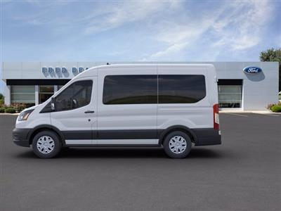 2020 Ford Transit 150 Med Roof RWD, Passenger Wagon #FU0077 - photo 4