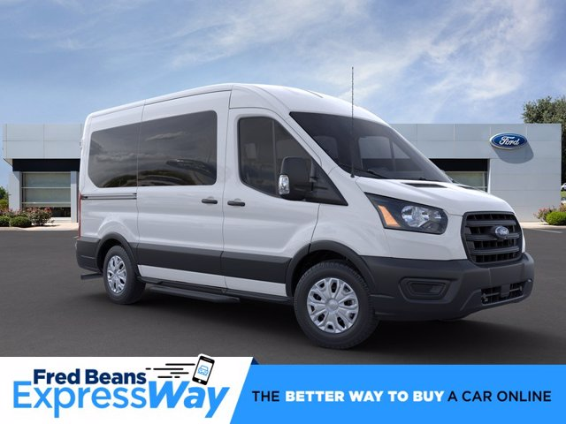 2020 Ford Transit 150 Med Roof RWD, Passenger Wagon #FU0100 - photo 1