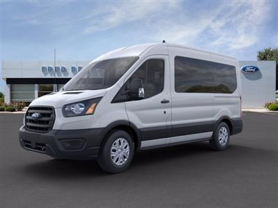 2020 Ford Transit 150 Med Roof RWD, Passenger Wagon #FU0101 - photo 4