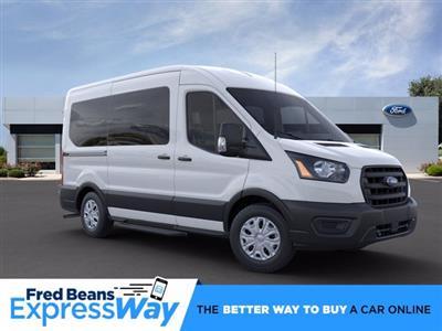 2020 Ford Transit 150 Med Roof RWD, Passenger Wagon #FU0112 - photo 1