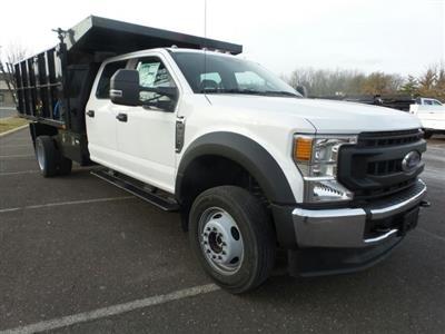 2020 Ford F-550 Crew Cab DRW 4x4, PJ's Landscape Dump #FU0137 - photo 4