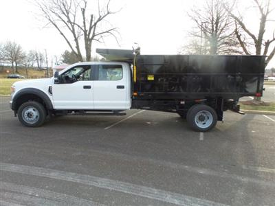 2020 Ford F-550 Crew Cab DRW 4x4, PJ's Landscape Dump #FU0137 - photo 8