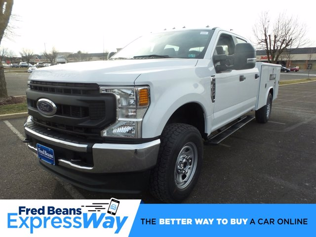 2020 Ford F-350 Crew Cab 4x4, Reading Classic II Steel Service Body #FU0161 - photo 1