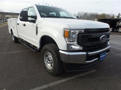 2020 Ford F-350 Crew Cab 4x4, Reading Classic II Steel Service Body #FU0161 - photo 4
