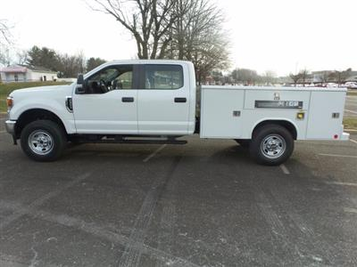 2020 Ford F-350 Crew Cab 4x4, Reading Classic II Steel Service Body #FU0161 - photo 8