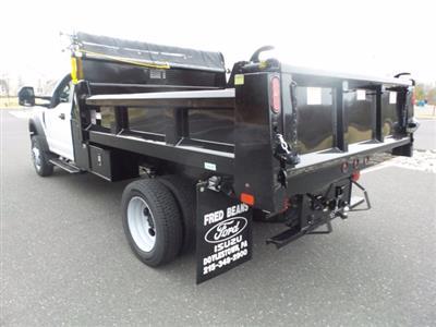 2020 F-450 Regular Cab DRW 4x4, Rugby Eliminator LP Steel Dump Body #FU0165 - photo 2