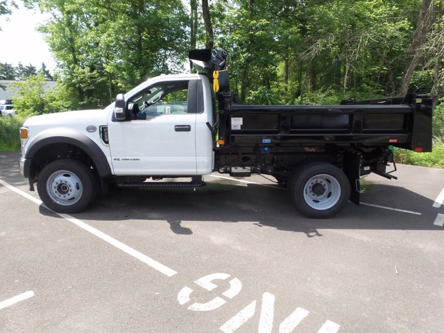 2020 Ford F-550 Regular Cab DRW 4x4, Rugby Eliminator LP Steel Dump Body #FU0166 - photo 8