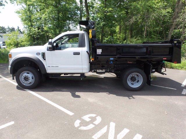 2020 Ford F-550 Regular Cab DRW 4x4, Rugby Eliminator LP Steel Dump Body #FU0166 - photo 7