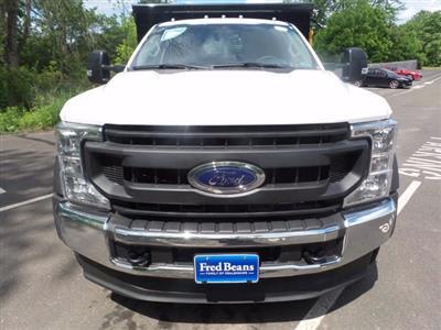 2020 Ford F-550 Regular Cab DRW 4x4, Rugby Eliminator LP Steel Dump Body #FU0166 - photo 3