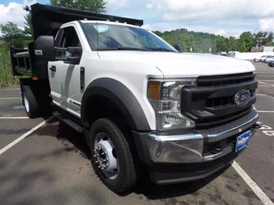 2020 Ford F-550 Regular Cab DRW 4x4, Rugby Eliminator LP Steel Dump Body #FU0166 - photo 3