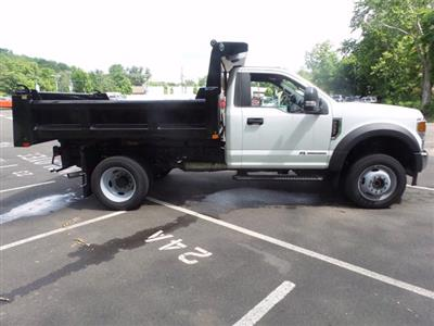 2020 Ford F-550 Regular Cab DRW 4x4, Rugby Eliminator LP Steel Dump Body #FU0166 - photo 6