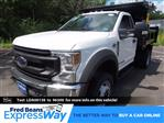 2020 Ford F-550 Regular Cab DRW 4x4, Rugby Eliminator LP Steel Dump Body #FU0166 - photo 1