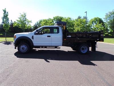 2020 Ford F-550 Super Cab DRW 4x4, Rugby Eliminator LP Steel Dump Body #FU0171 - photo 6