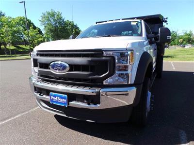 2020 Ford F-550 Super Cab DRW 4x4, Rugby Eliminator LP Steel Dump Body #FU0171 - photo 7