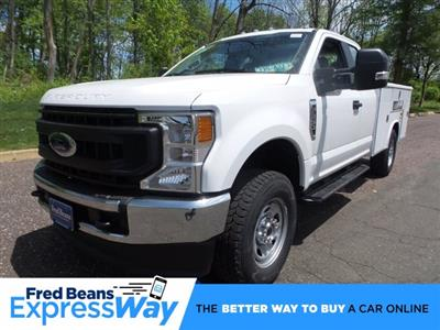 2020 Ford F-350 Super Cab 4x4, Reading Classic II Steel Service Body #FU0175 - photo 1