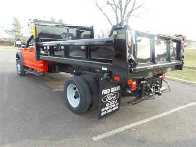 2020 F-550 Super Cab DRW 4x4, Rugby Eliminator LP Steel Dump Body #FU0199 - photo 2
