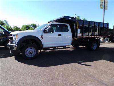 2020 Ford F-550 Super Cab DRW 4x4, Morgan LandscaperPRO Landscape Dump #FU0204 - photo 6
