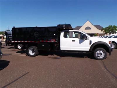 2020 Ford F-550 Super Cab DRW 4x4, Morgan LandscaperPRO Landscape Dump #FU0204 - photo 1