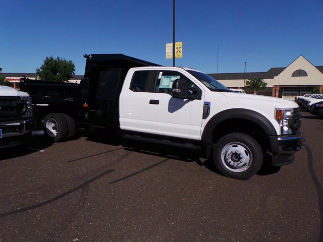 2020 Ford F-550 Super Cab DRW 4x4, Rugby Eliminator LP Steel Dump Body #FU0222 - photo 3