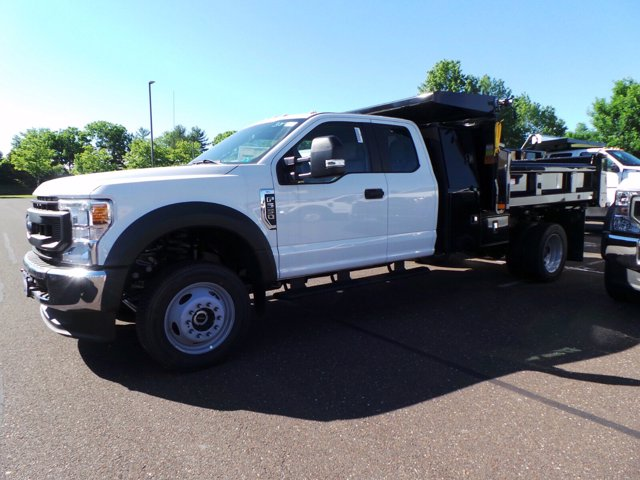 2020 Ford F-550 Super Cab DRW 4x4, Rugby Eliminator LP Steel Dump Body #FU0222 - photo 6