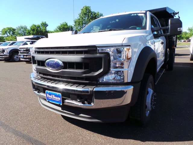 2020 Ford F-550 Super Cab DRW 4x4, Rugby Eliminator LP Steel Dump Body #FU0222 - photo 7